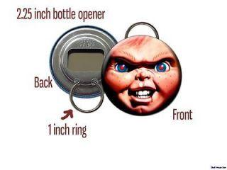 Chucky Childs Play Killer doll face Bottle Opener / Keychain