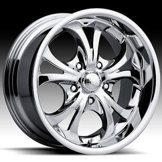 22 x9.5 Boss 304 3046 Chrome Wheels Rims 5 6 8 Lug