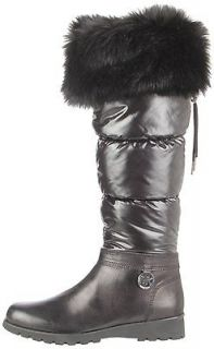 MICHAEL Michael Kors Womens Brandy Snow Boot Black