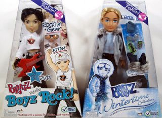 Bratz Boyz LOT OF 2 CAMERON (Wintertime Series) and EITAN (Really