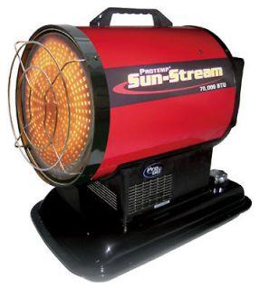 70,000 BTU Protemp Sun Stream Portable Kerosene Heater