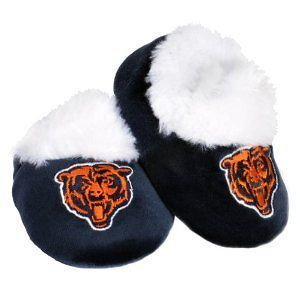 Chicago Bears NFL Football Logo Baby Bootie Slippers Shoes   Choose