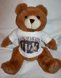 ONE DIRECTION 13 Brown Teddy Bear #1 Boy Band Harry Liam Louis Zayn
