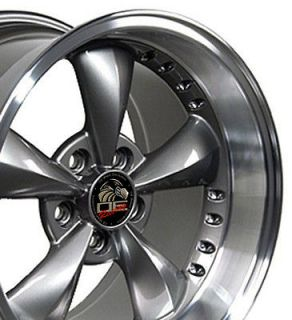 Single 17x10.5 Anthracite Bullitt Wheel Fits Mustang® 94 04