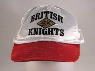 British Knights Retro Satin Logo Unisex Cap Hat One Size New