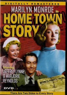 MARILYN MONROE Home Town Story RARE 1951 Film DVD NEW