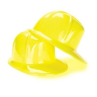 US Toy 163593 Construction Party Hard Hat child sized