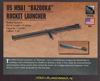 M9A1 BAZOOKA ROCKET LAUNCHER Army Atlas Classic Firearms Gun