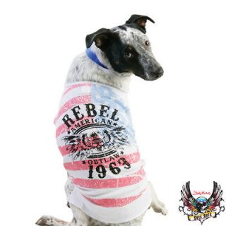 NWT Bret Michaels Pets Rock Dog Rebel Outlaw Tee T Shirt Top Small