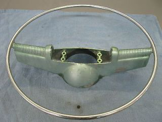 1954 OLDSMOBILE STEERING WHEEL HORN RING 113