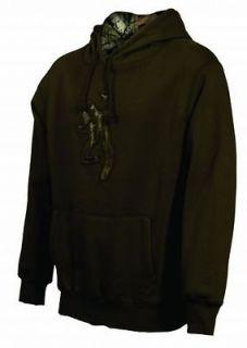 Mens NWT Browning Buckmark Camo Logo Sweatshirt Hoodie Chestnust Any