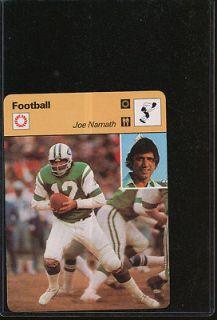 1977 SPORTSCASTER JOE NAMATH NMMT *587890