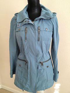 Burberry Brit Womens Hooded Rain Jacket
