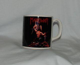 Manowar Mug New Rare Coffee Warriors Accept Judas Priest Maiden