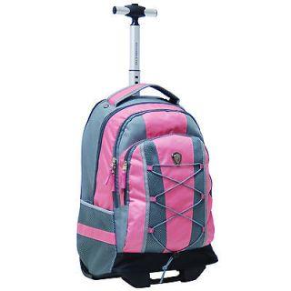 CalPak Impactor 18 inch Rolling Backpack     pink