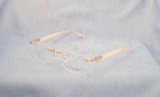 Calvin Klein ~ CK 7287  045 Clear 56 15 140 Womens Designer Eyeglass