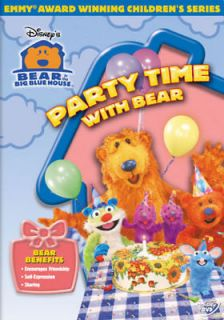 In The Big Blue House Party Time W/bear [dvd] (buena Vista Home Video