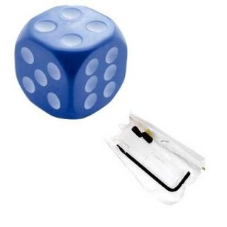 Custom Blue Dice Stick Shift Gear Shifter Knob for Hotrod Ratrod Car