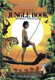 Rudyard Kiplings The Second Jungle Book Mowgli and Baloo ~ DVD WS
