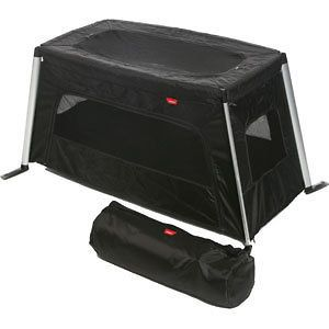 Phil and Teds BLACK Traveller Portable Crib Travel Cot