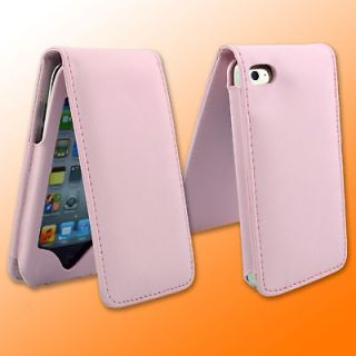 Newly listed New PINK LEATHER CASE FOR APPLE IPOD TOUCH iTouch 4G 4th