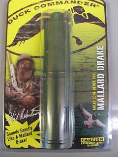 DUCK DYNASTY DUCK COMMANDER CUT DOWN DOUBLE REED DUCK CALL W/BOX DECOY