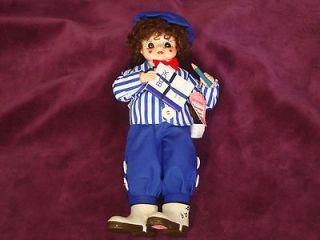 Brinns September School Days Teacher Apple Calendar Clown Doll