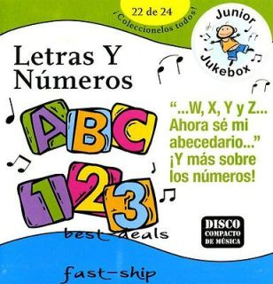 Letras Y Numeros Childrens Spanish Songs CD New