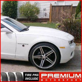 20 El camino Camaro Chevy Wheel AND TIRE IROC wheels rims SALE