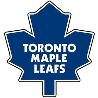 Toronto Maple Leafs NHL Team Logo Wall Window Printed Vinyl Sticker