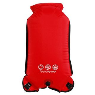Outdoor Equipment Dry Sack Bag Canoeing Kayak Camping 25L Poppy Red