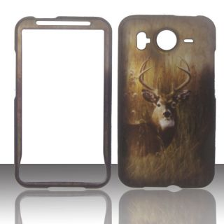2D Buck Deer HTC Inspire 4G AT&T Case Cover Hard Phone Snap on