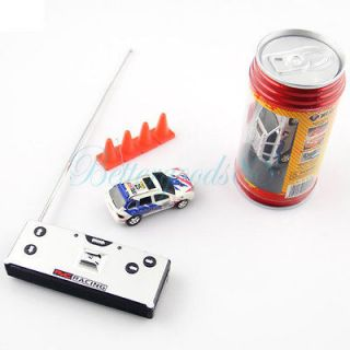 Mini Coke Can RC Radio Remote Control Micro Race Racing Car Toy