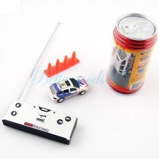 Mini Coke Can RC Radio Remote Control Micro Race Racing Car Toy