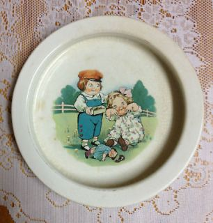 Buffalo Pottery Campbell Soup Kids Dolly Dingle Childs Soup Bowl
