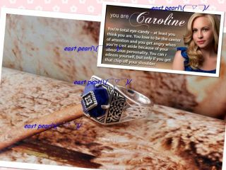 Vampire Diaries CAROLINE magic anti sunlight sunshine protecting Ring