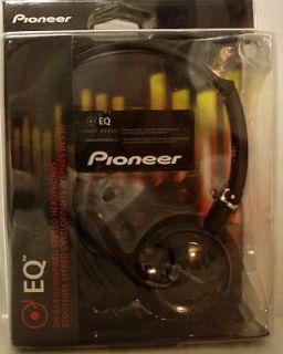 Pioneer EQ On Ear Stereo Headphones SE MJ21 K