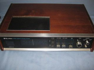 Newly listed VINTAGE BELL * HOWELL FM/AM STEREO/TAPE PLAYER