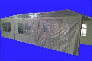 10 x 30 Party Tent, Wedding Tent, Canopy, Carport, w/Sidewalls 130g