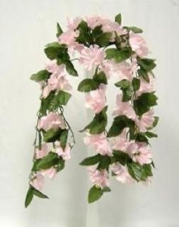hanging silk flower arrangements