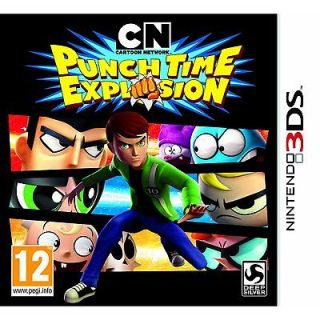 Cartoon Network   Punch Time Explosion   Nintendo 3DS   New and Sealed