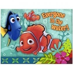 Disney FINDING NEMO INVITATIONS ~ Coral Reef Birthday Party Supplies