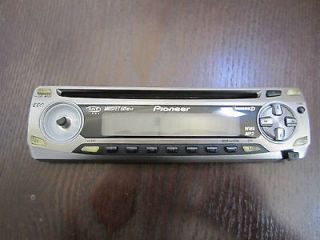 PIONEER SUPER TUNER III D STEREO FACEPLATE MISSING CONTROL KNOB