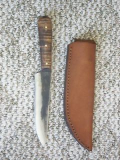 Jeff White Custom French Knife & Custom Jones Sheath