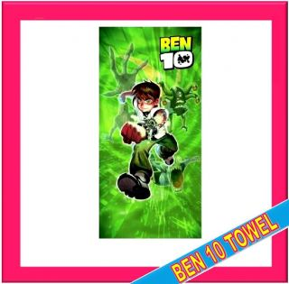 NEW BEN 10 TEN CARTOON NETWORK TOWEL BEACH BATH TOWEL 271461