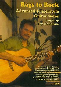 Rags to Rock DVD, Advanced Fingerstyle Guitar Solos