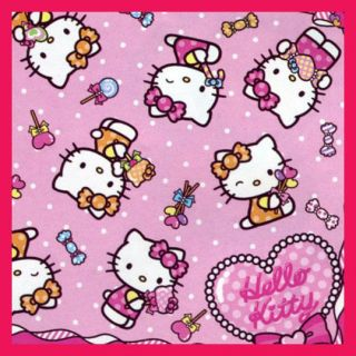 cute pink hello kitty candy small one person picnic mat 57x87mm