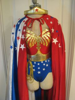wonder CAPE Lynda Carter style replica for woman