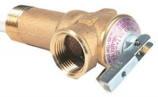 Camco 2 1/2 Water Heater T&P Relief Valve With Setting Of 150psi