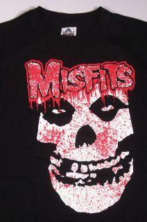 MISFITS Bloody Fiend T shirt Cee Lo Punk Skull Tee SzXL